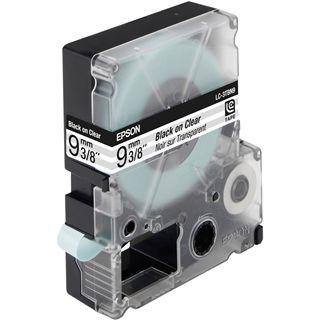Epson C53S624403 Tape 9mm Transparentfolie - Schwarz auf Transparent