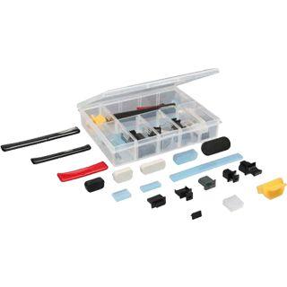 InLine 44-teilig Staubschutz-Set Abdeckung für Anschlüsse