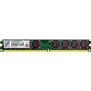 2GB Transcend TS256MLQ64V8U DDR2-800 DIMM CL5 Single