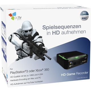 PCTV HD Game Recorder USB 2.0