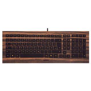 CHERRY Strait USB Deutsch ebenholz (kabelgebunden)