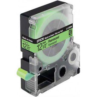 Epson LC-4GBF9 grün Etikettenkassette (1 Rolle (1.2 cm x 9 m))