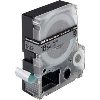 Epson LC-5SBE9 schwarz auf mattsilber Endlosetiketten (1 Rolle (1.8 cm x 9 m))