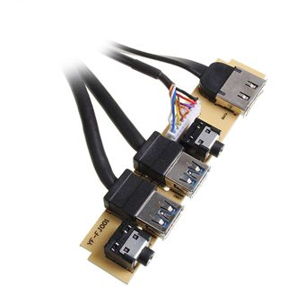 Xigmatek USB 3.0/eSATA/Audio Erweiterung für Midgard (COU-MBCFNC-U01)