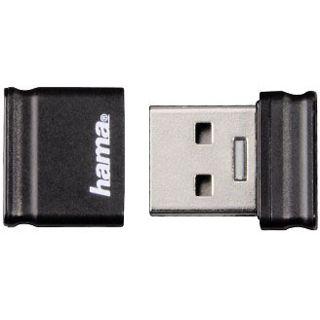 "32 GB Hama FlashPen ""Smartly"" schwarz USB 2.0"