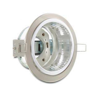Delock Lampenfassung GX53 Einbaufassung rund mit Reflektor