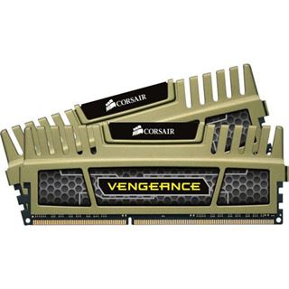 8GB Corsair Vengeance grün XMP DDR3-1600 DIMM CL9 Dual Kit