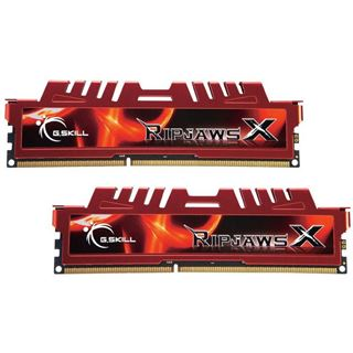 16GB G.Skill RipJawsX DDR3-1600 DIMM CL10 Dual Kit