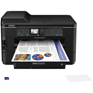 Epson WorkForce WF-7525 Tinte Drucken/Scannen/Kopieren/Faxen LAN/USB 2.0/WLAN