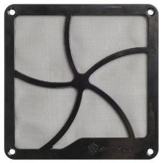 Silverstone 120mm quadratisch magnetisch Staubfilter für