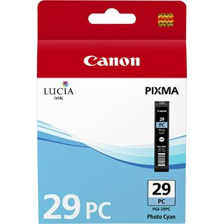 Canon Tinte PGI-29PC 4876B001 cyan photo