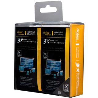 Antec 3X Cleaner Wipes elektronische Geräte Reinigungstuch 20 Stück (0-761345-77430-7)
