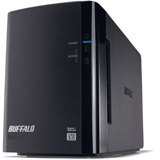 "6000GB Buffalo DriveStation Duo HD-WL6TU3R1-EU 3.5"" (8.9cm) USB 3.0 schwarz"