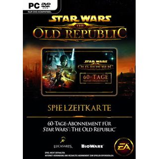 EA Games Star Wars: The Old Republic 60 Tage PrePaid Karte (PC)