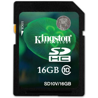16 GB Kingston Video HD SDHC Class 10 Bulk