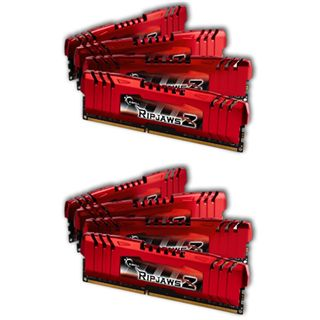 32GB G.Skill RipJawsZ DDR3-1600 DIMM CL9 Octa Kit