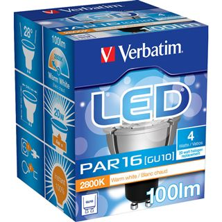 Verbatim PAR16 52022 Warmweiß GU10 A