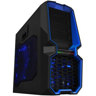 Raidmax Blackstorm R2 Midi Tower ohne Netzteil schwarz/blau