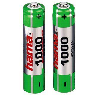 Hama Akkus AAA / Micro Alkaline 1000 mAh 2er Pack