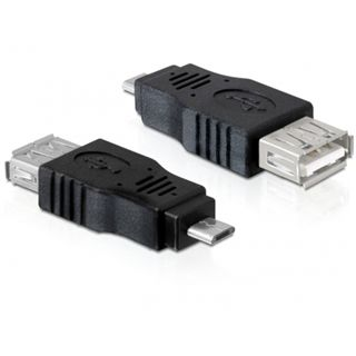DeLOCK USB micro B St/ USB A Buchse