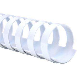 Kensington Plastic BINDING COMBS A4 weiß 100Stk. 12mm