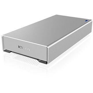 "ICY BOX IB-328StUSE2 3.5"" (8,89cm) eSATA/FireWire/FireWire 800/USB 2.0 silber"