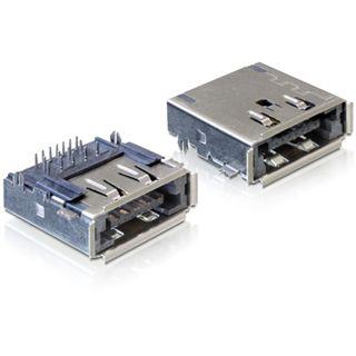 Good Connections Adapter Anschlusskabel USB 3.0 eSATA Buchse auf USB A Buchse Einbaubuchse/vergoldet
