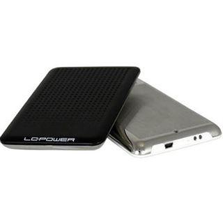 """LC-Power LC-PRO-25BU 2.5"""" (6,35cm) USB 2.0 schwarz/silber"""