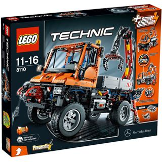 LEGO Technic 8110 Mercedes - Benz Unimog - U 400 mit Power F