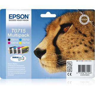 EPSON TINTENPATRONE RAINBOW PACK 23,9ML BLISTER+ALARM RADIOFREQUENZ STYLUS D/78/92/120 STYLUS DX/4000/4050/4400/4450/5000/5050/6000