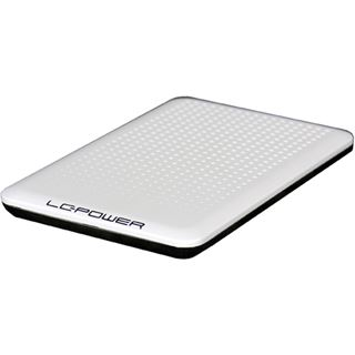 "LC-Power LC-PRO-25WU 2.5"" (6,35cm) USB 2.0 weiss"