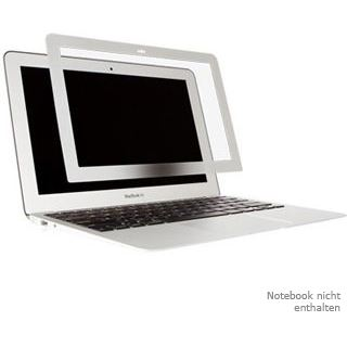 Moshi Schutzfolie iVisor Anti-Glare Silver Macbook Air