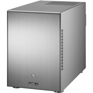Lian Li PC-Q25A ITX Tower ohne Netzteil Alu silber