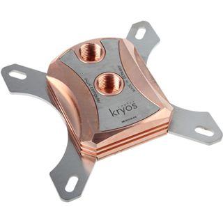 Aqua Computer Cuplex Kryos HF Edelstahl / Kupfer CPU Kühler