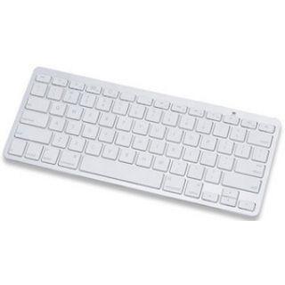 Manhattan Tablet Mini-Tastatur Bluetooth Deutsch weiß/silber (kabellos)