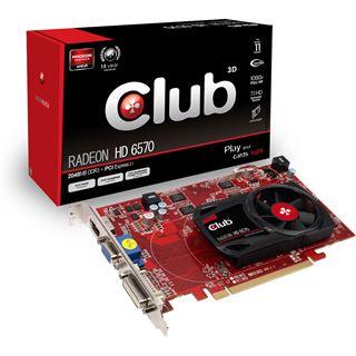 2GB Club 3D Radeon HD 6570 Aktiv PCIe 2.1 x16 (Retail)