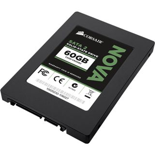 "60GB Corsair Nova Series 2.5"" (6.4cm) SATA 3Gb/s MLC asynchron"