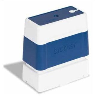 Brother Stempel blau 14x38 mm