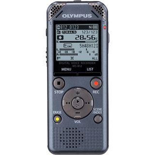Olympus WS-812 grau digitales Diktiergerät