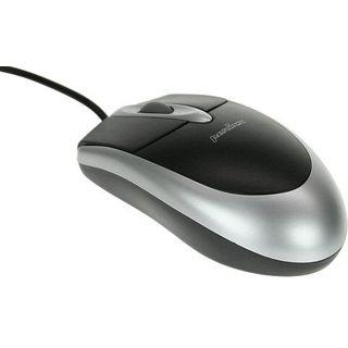optische Maus 3Tastenmaus silber/schwarz