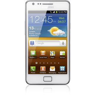 Samsung Galaxy S2 i9100G 16 GB weiß
