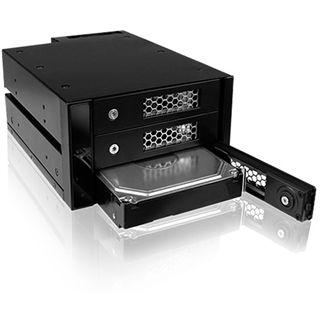 """ICY BOX IB-543SSK 3fach SAS/SATA Wechselrahmen für 3.5"""""""
