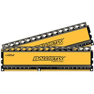 8GB Crucial Ballistix Tactical DDR3-1600 DIMM CL8 Dual Kit
