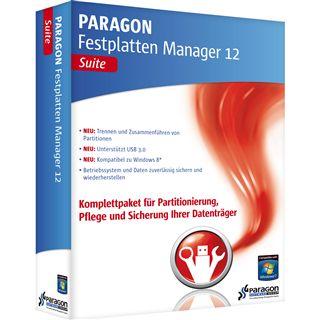 Paragon Festplatten Manager 12 Pro 32/64 Bit Deutsch Utilities