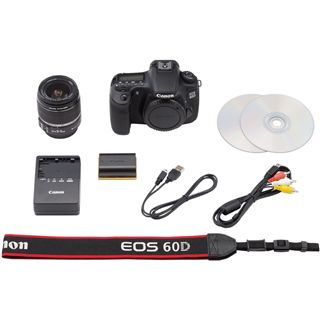 Canon EOS 60D Kit inklusive EF-S 18-55 mm f/3.5-5.6 IS II