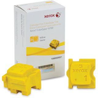 Xerox Tinte 2 Sticks 108R00997 gelb