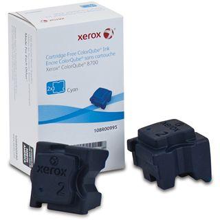 Xerox Tinte 2 Sticks 108R00995 cyan