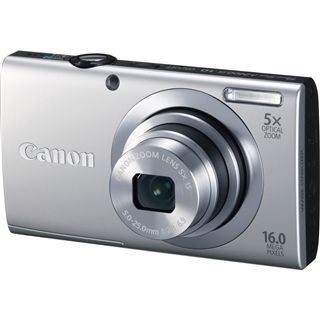 Canon PowerShot A2400 IS SILBER - Digitalkamera