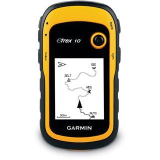 Garmin eTrex 10 GPS-Handgerät schwarz/gelb