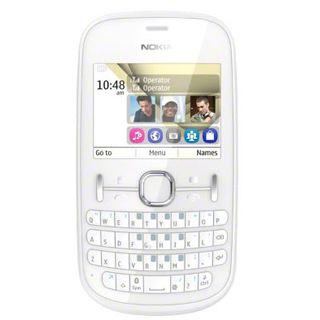 Nokia Asha 200 Dual SIM 64 MB weiß